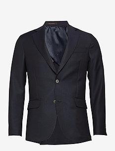 Egel Soft Blazer - enkeltkneppede blazere - navy