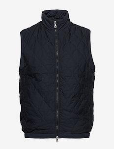 Liner Waistcoat - kamizelki - 215 - faded light blue