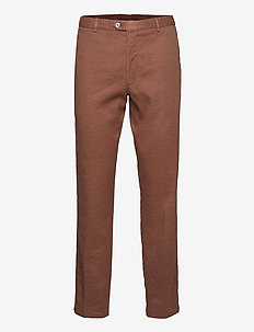 Denz Trousers - chinos - tobacco