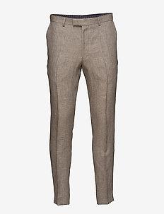 Denz Trousers - spodnie na co dzień - 470 - light beige