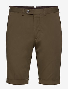 Declan shorts - chinos shorts - 858 - spruce