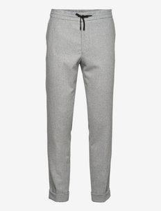 Nolan Trousers - casual broeken - light grey