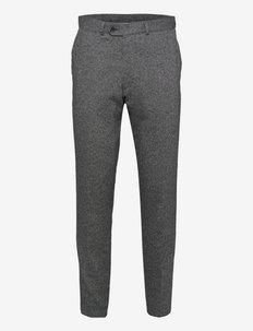 Nico Trousers - anzugshosen - dark grey