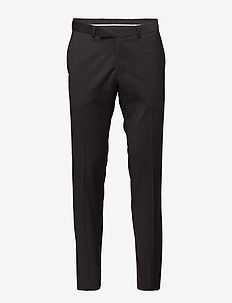 Dave Trousers - puvunhousut - black