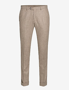 Dean Trousers - puvunhousut - 470 - light beige
