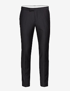 Duke Trousers - puvunhousut - black