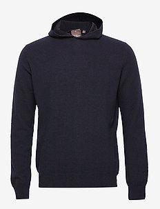 Pascal Hoodie - basic sweatshirts - 210 - navy