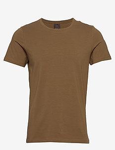 Kyran T-shirt - basis-t-skjorter - 588 - chesnut
