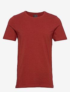 Kyran T-shirt - basis-t-skjorter - 605 - suede orange