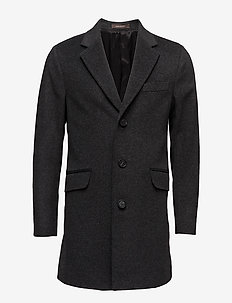 Saks Coat - villakangastakit - 110 - dark grey