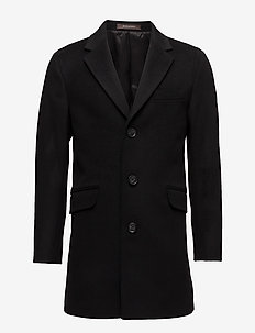 Saks Coat - villakangastakit - 310 - black