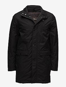 Danton Coat - fôrede jakker - 310 - black