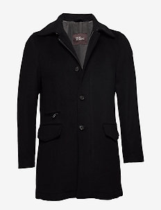 Jefferson Coat - villakangastakit - 310 - black