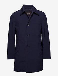 Johnsson Coat - cienkie płaszcze - 210 - navy