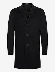 Storvik Coat - manteaux de laine - black