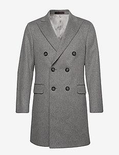 Sebastian Coat - ullfrakker - 185 - grey