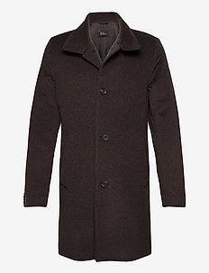 Storviker Coat - manteaux de laine - brown