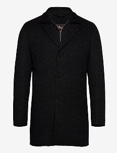 Dalton Padded Coat - manteaux de laine - grey