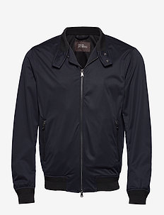 Harrys Jacket - bomber jakke - 208 - window blue