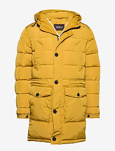 Clayton Jacket - fôrede jakker - 741 - yellow