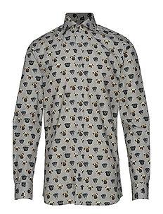 Harry 3 Slim Shirt Wash (111 Antracite Grey) (1049.25 kr