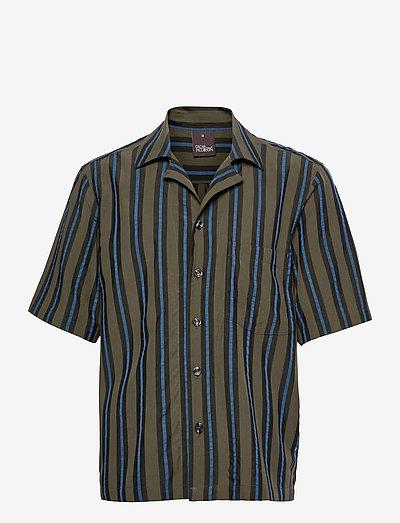 Hilmer Reg Shirt - chemises oxford  use default - forest