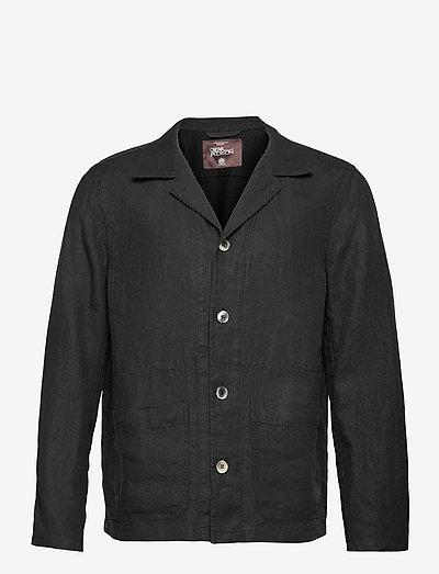 Hampus shirt Jacket - clothing - black