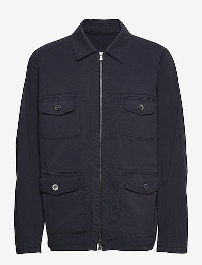 Raf Shirt Jacket - light jackets - faded light