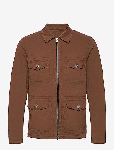 Raf Shirt Jacket - light jackets - tobacco
