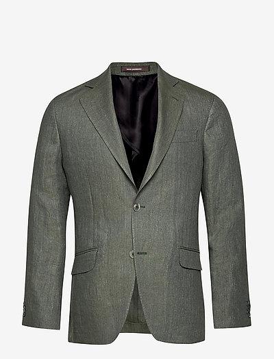 Egel Soft Blazer - single breasted blazers - green leaf