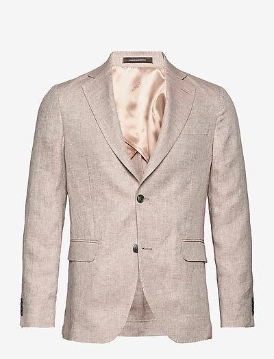 Egel Soft Blazer - single breasted blazers - light beige