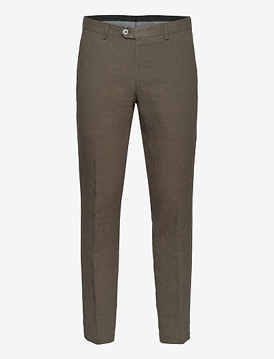 Diego Trousers - chinos - green leaf