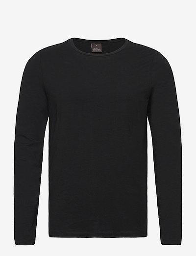 Kyran T-shirt L-S - t-shirts - black