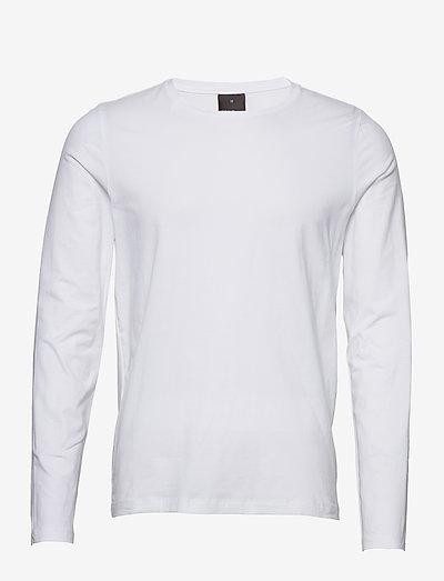 Kyran T-shirt L-S - t-shirts - white