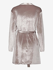 OW Intimates - KATRINA Short Robe - pegnoirs - grey - 2