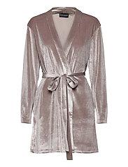 KATRINA Short Robe - GREY