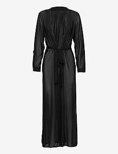 PANAMA Robe - strandkläder - black caviar