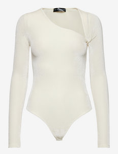 AMELIA Bodysuit - bodies & slips - white