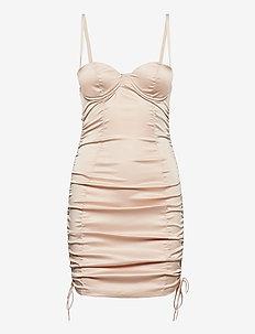 FREJA Bra Dress - nachtjurken - rose nude