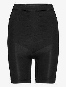 ASTA Shapewear Shorts - bottoms - black caviar