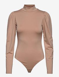 GISELE Puf Bodysuit - bodies & slips - nude