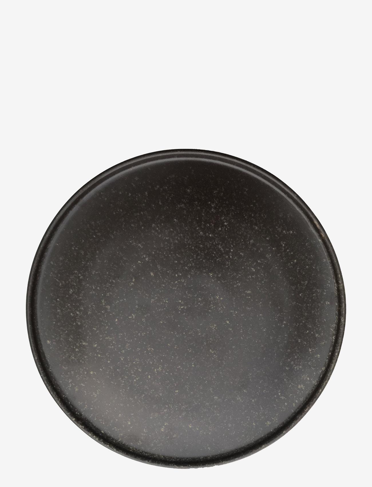 OYOY Living Design - Inka Dinner Plate, Pack of 2 - middagstallerkener - brown - 0