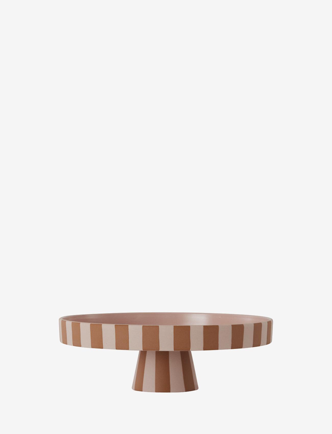 OYOY Living Design - Toppu Tray - Large - kakefat - caramel / rose - 0