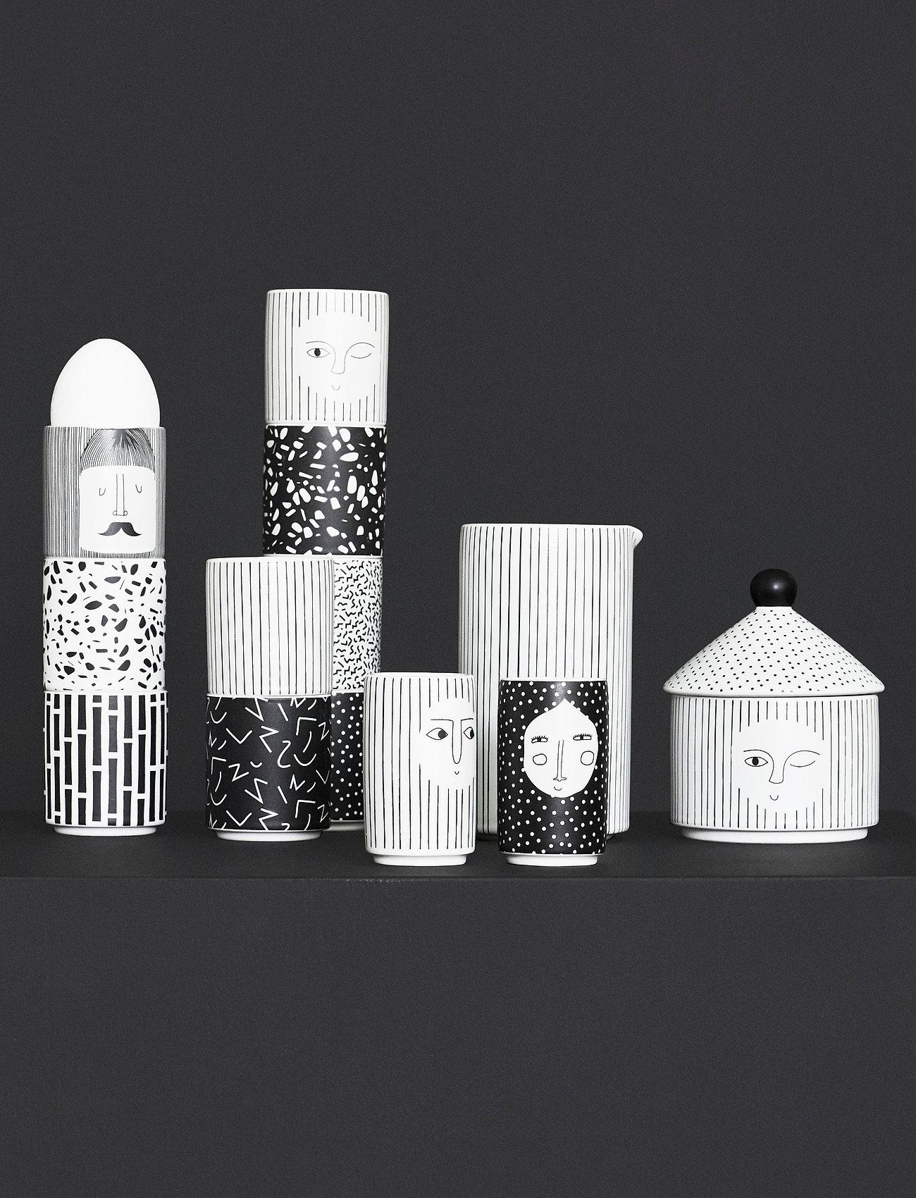 OYOY Living Design - Egg People - Man - munakupit - white / black - 1
