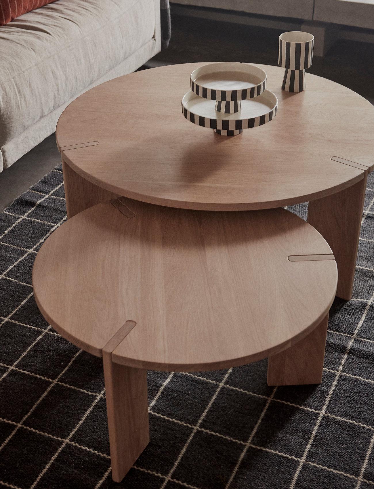 OYOY Living Design - Toppu Tray - kakefat - white / black - 1