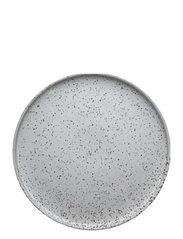 Inka Dinner Plate, Pack of 2 - WHITE / LIGHT BROWN