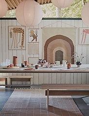 OYOY Living Design - Toppu Tray - Large - kakefat - caramel / rose - 2