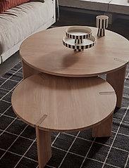 OYOY Living Design - Toppu Tray Large - kakefat - white / black - 2