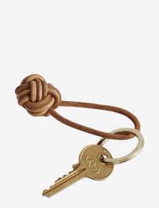 Keyring Knot - nøkkelringer - leather