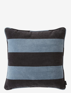 Confect Velvet Cushion - puder - tourmaline / anthracite